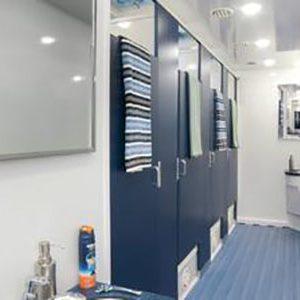 shower trailer interior