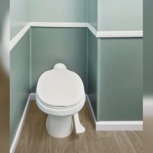 interior stall with toilet