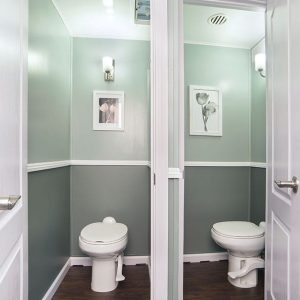 restroom stalls