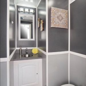 interior view of restroom