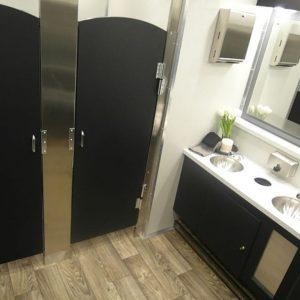 interior of restroom