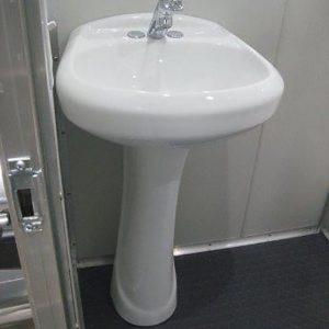 Detail shot of sink