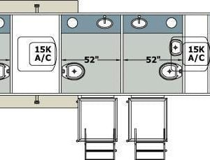 commercial restroom specifications