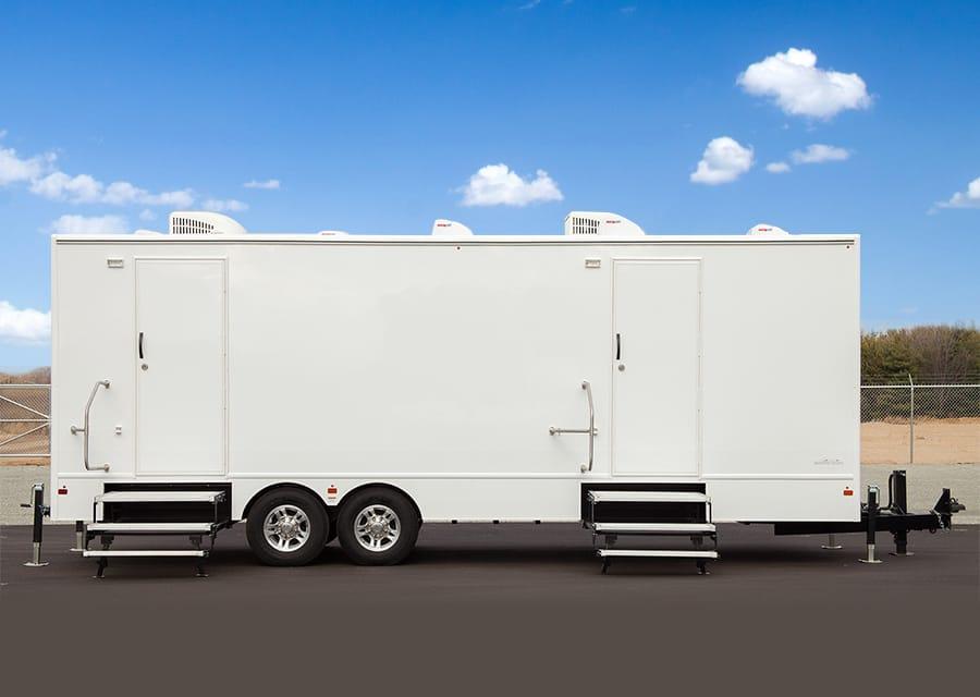 commercial restroom trailer