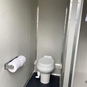Shower trailer stall