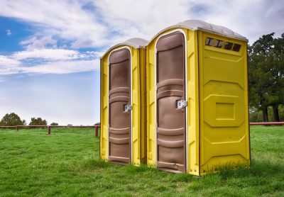 Luxury Porta Potty