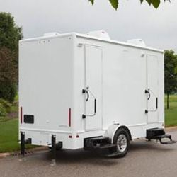 perfect portable restroom trailer