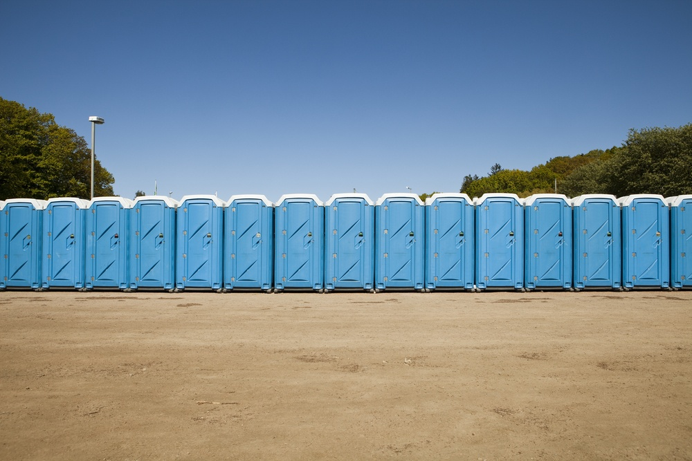luxury porta potties