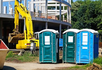 porta potties construction